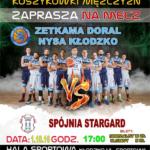 Plakat organizatora spotkania – www.kosz.doral.pl, których serdecznie pozdrawiamy.